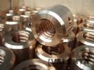 Muttern mit Trapezgewinde aus Bronze CuSn8 gemäß Zeichnung